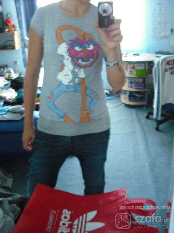t shirt ze zwierzakiem the muppets show