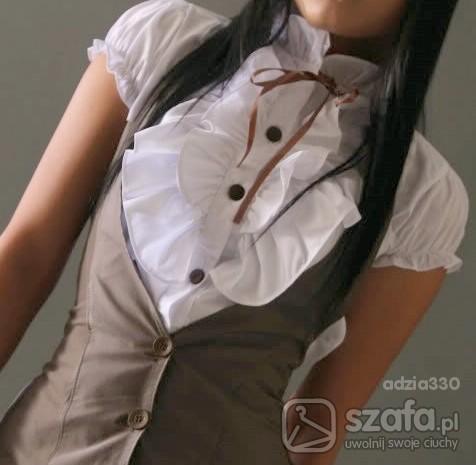 sliczna elegancka koszulka SM...
