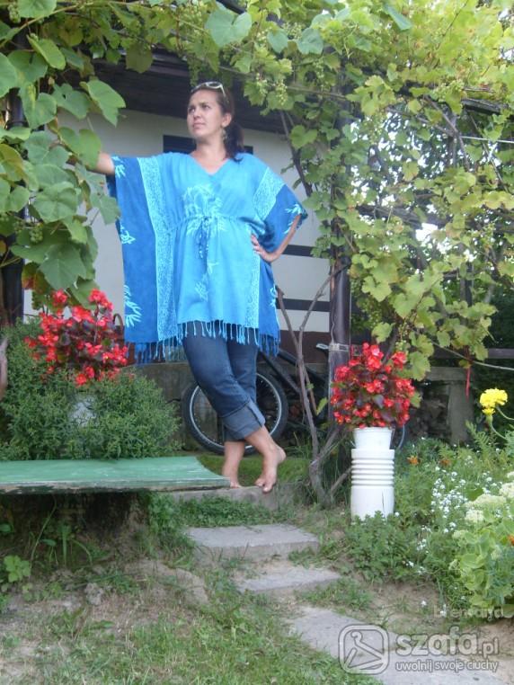 Mój styl Turkus na łonie natury