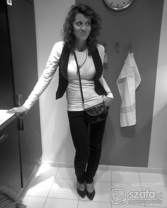 Mój styl wygodnie dosc kobieco lajt rockowo