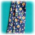 Wiosenny krawat w kwiaty