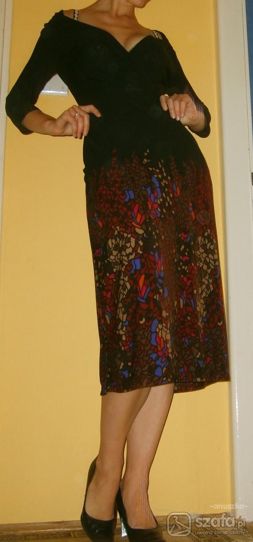 Eleganckie sukienka z mango