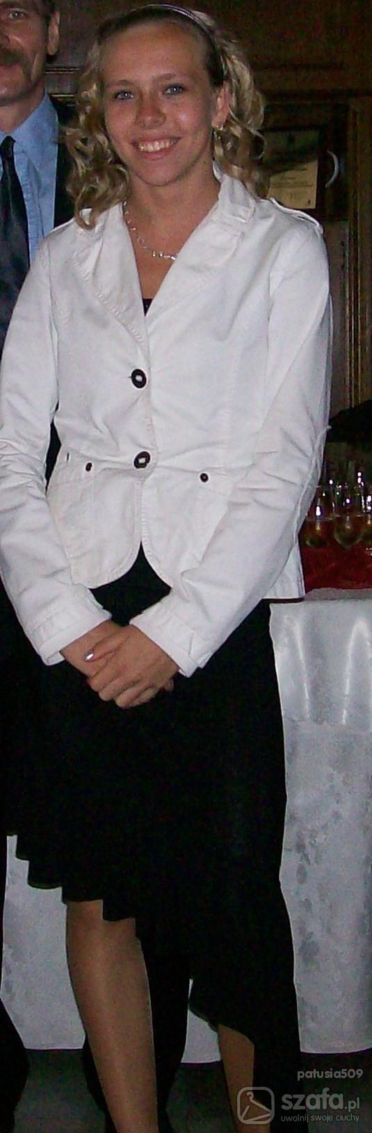 Eleganckie żakiet i sukienka