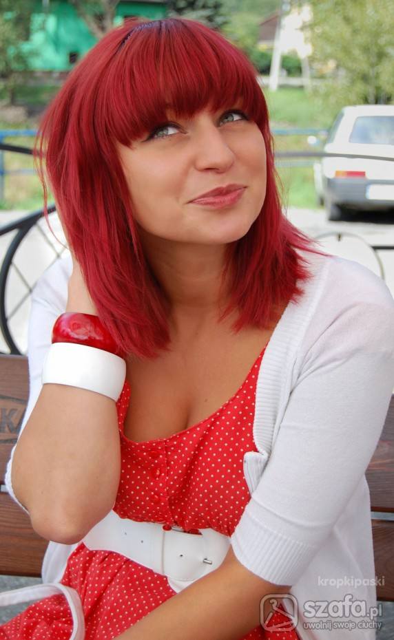 Mój styl Red Haired Girl