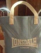 błękitna torebka lonsdale prosto z londynu