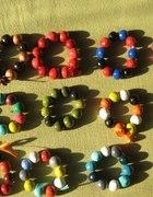 bransoletki z gliny