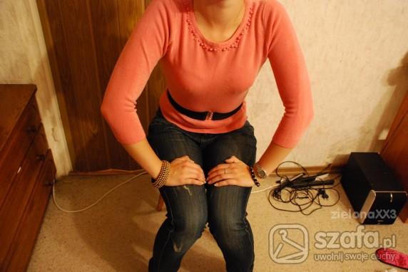 morelowy sweterek
