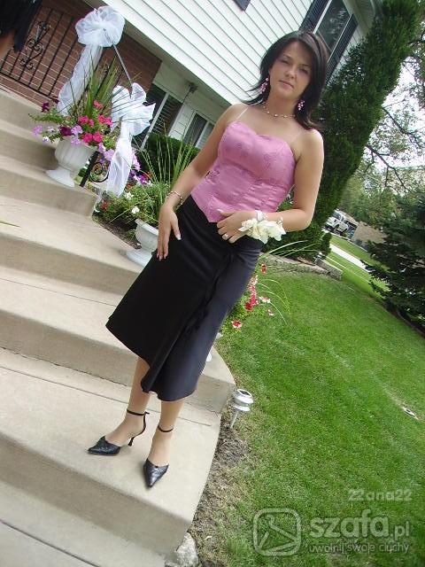 Eleganckie Spódnica plus gorset