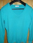 Orsay niebieski sweterek...