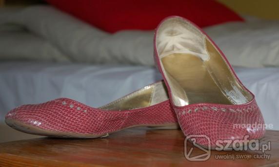 Balerinki rozowe balerinki ZARA