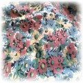 Bardzo modna z kokardą i motywem kwiatowym