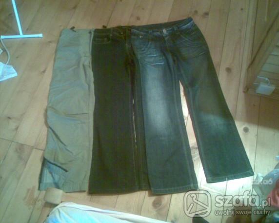Spodnie jeansowe sportowe...