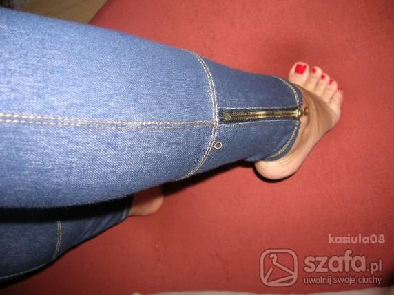 Mój styl Legginsy jak jeans