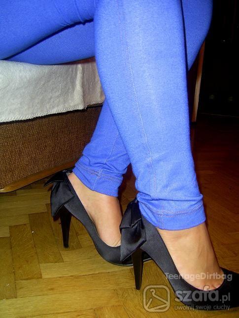 Mój styl niebieske jeansy