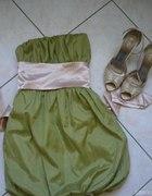 Półmetkowa sukienka...