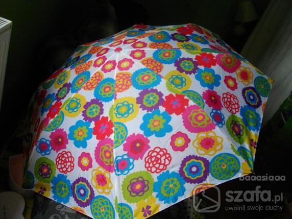 Pozostałe parasol z kwiatkami