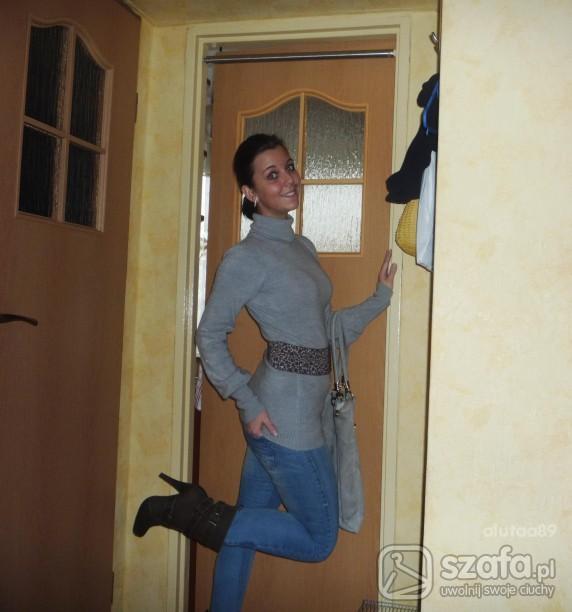 Mój styl stradivarius szpilki bershka rurki panterka