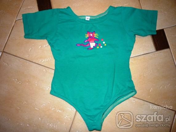Koszulki, podkoszulki Zielone body 110 cm