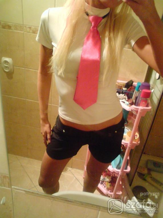 Sexi Sexi krawat bluzeczka spodenki