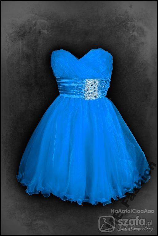 Na specjalne okazje Niebieska sukieneczka