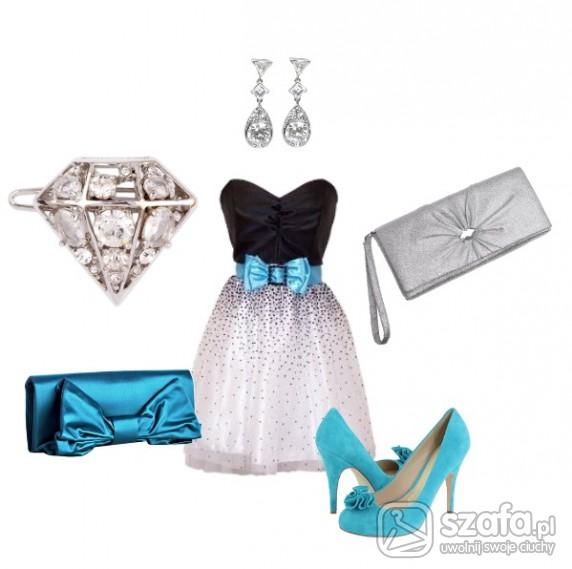 Eleganckie Sweet Blue