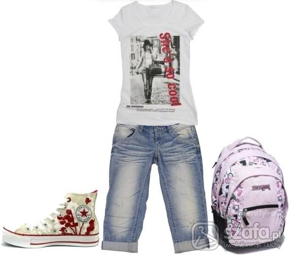 Do szkoły dziewczęco i modnie