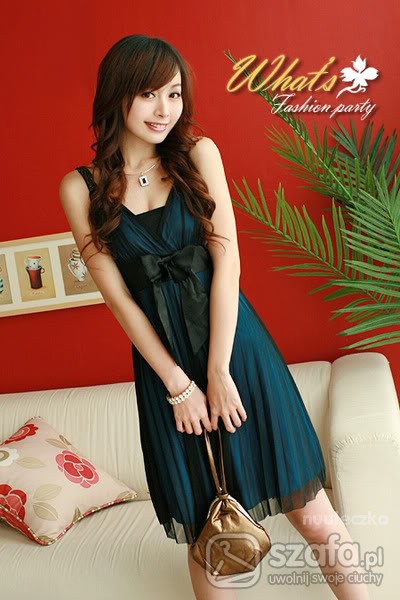 Eleganckie Sukienka japan style
