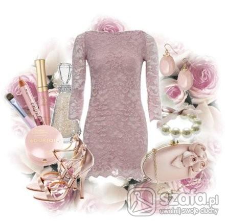 Sexi sukienka TOP SHOP i moja kompozycja