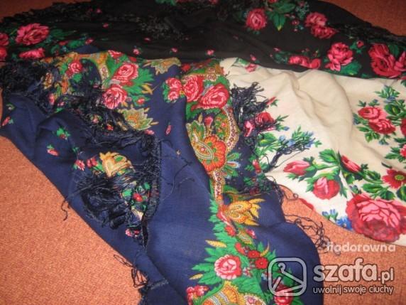Chusty i apaszki 3 kolory