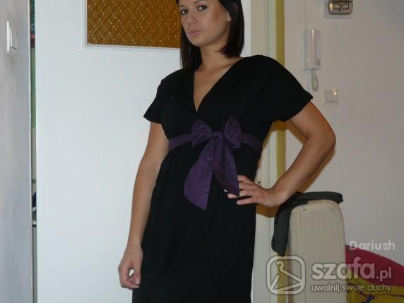 Imprezowe Czarna sukienka