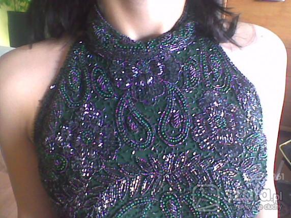 Eleganckie sukienka karnawałowa