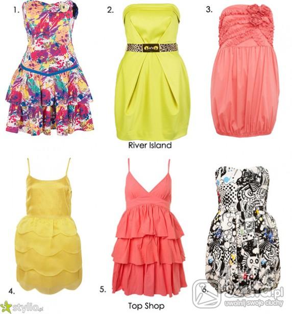 Eleganckie śliczne sukienki