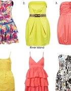 śliczne sukienki...