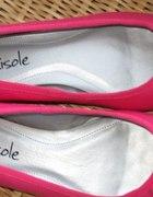 balerinki rozowe