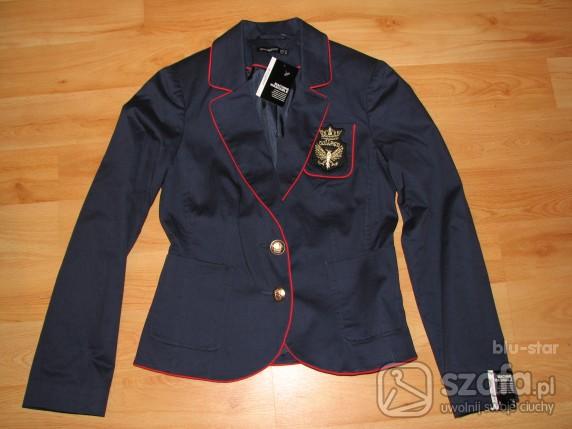 Swetry Marynarka granatowa r38