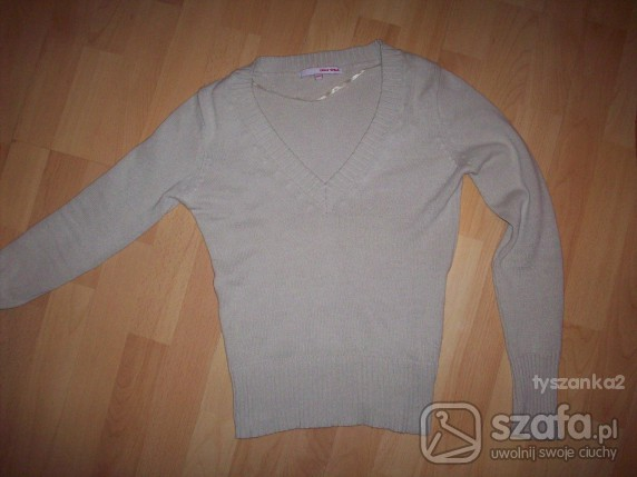 Swetry Tally Weijl sweter S beżowy