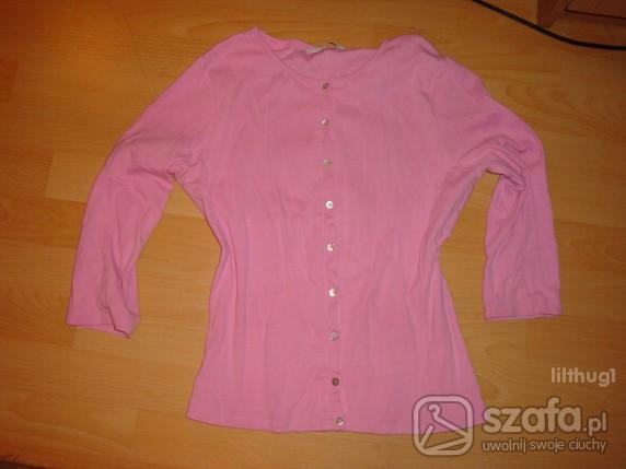 Swetry różowy KARDIGAN New Look