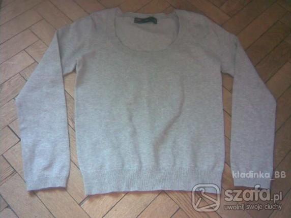 Swetry Szary sweterek ZARA