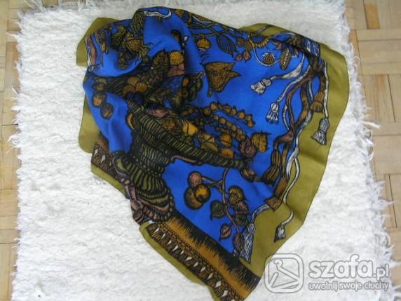 Chusty i apaszki chustka apaszka z jedwabiu