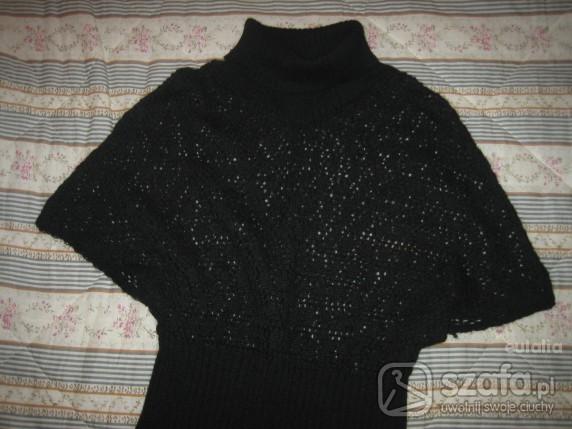 Swetry Kmono nietoperz azurkowy