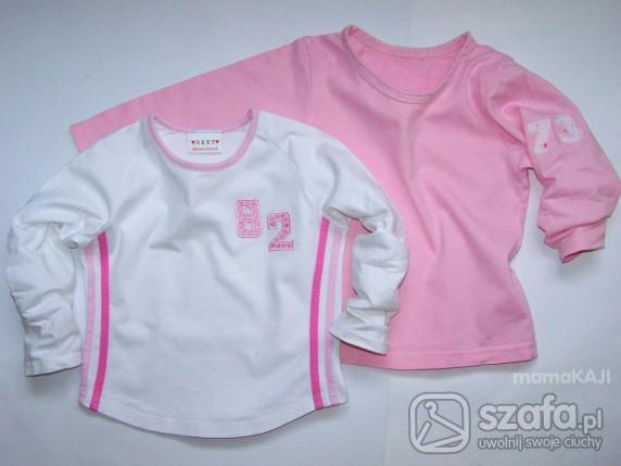 Koszulki, podkoszulki 98 cm DWIE Bluzeczki