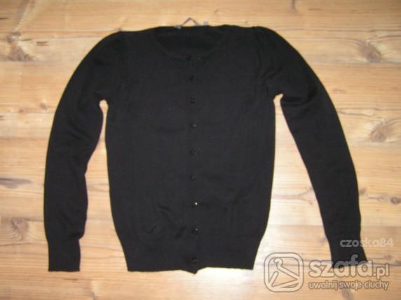 Swetry czarny kardigan