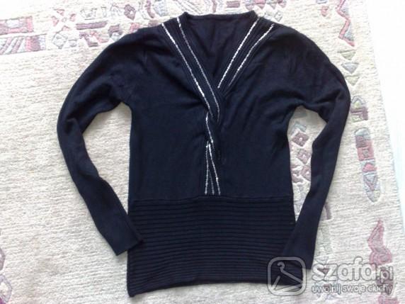 Swetry Sweterek czarny xxs xs s