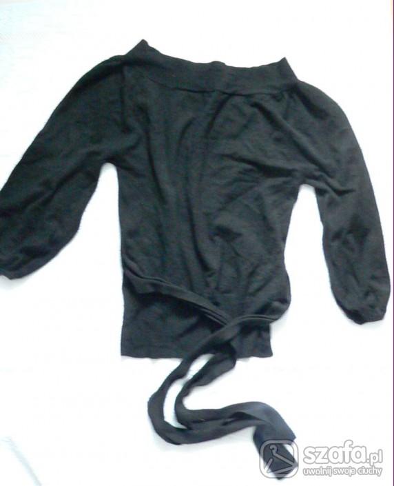 Swetry czarny sweterek wymiana