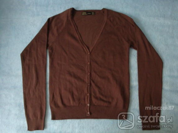 Swetry Brązowy sweterek