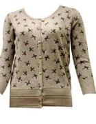 Sweterek w kokardki
