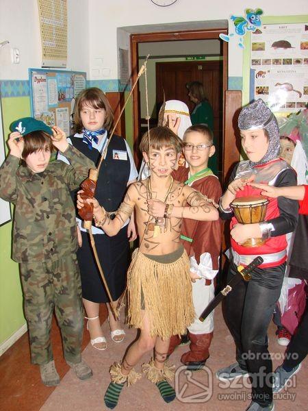 Imprezowe Strój karnawałowy Wojownik plemienny