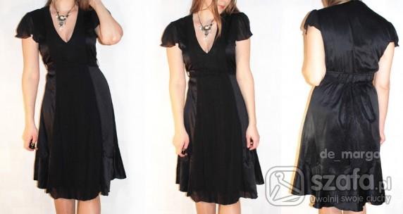 Na specjalne okazje czarna sukienka Vila