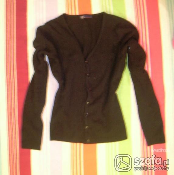 Swetry Śliczny czarny kardigan