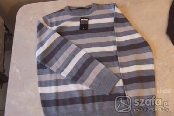 Swetry sweter meski nowy M L WYMIANA